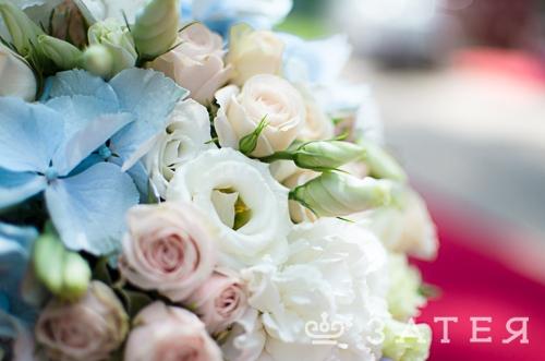 шикарная флористика на свадьбе