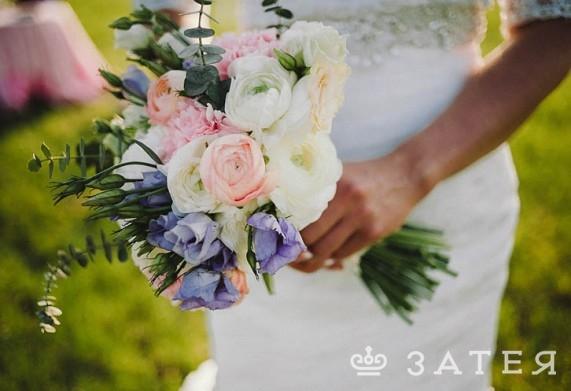 свадебный букет с ранункулюсами витебск