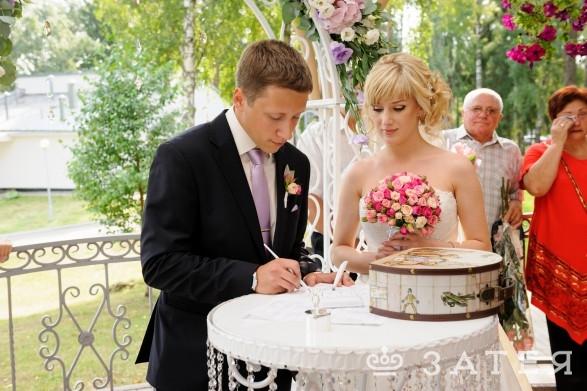 хрустальный стол для церемонии