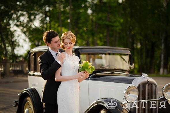 первая машина на свадьбу