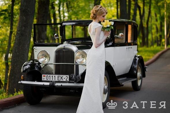 красивая машина на свадьбу