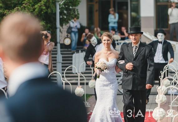 красивая церемония бракосочетания