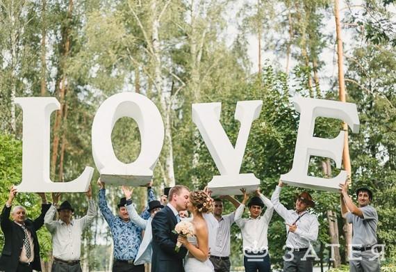 буквы для фотосессии в прокат в Витебске