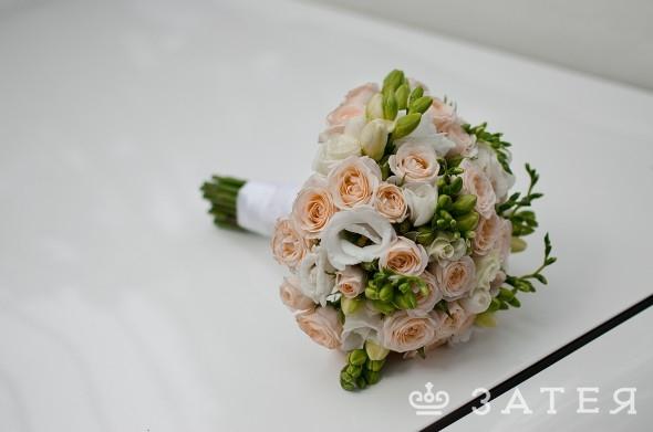 букет невесты затея