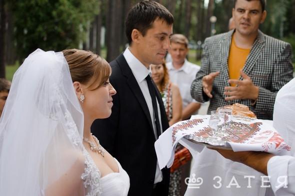 загородная свадьба