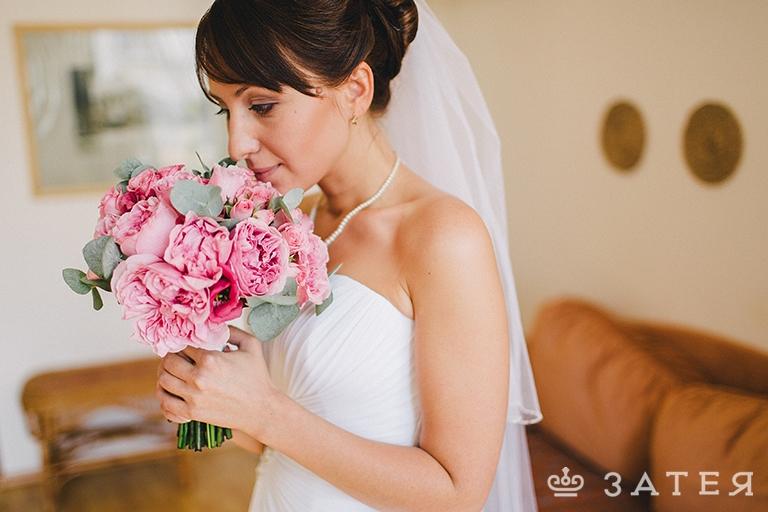 необычный букет невесты заказать