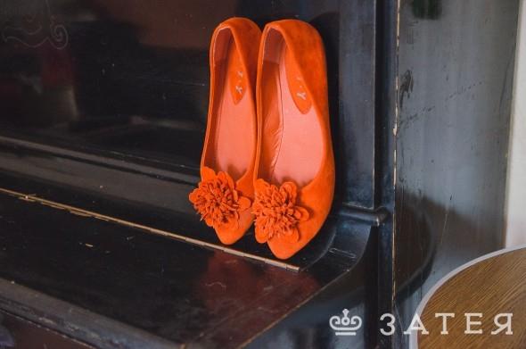 оранжевая свадьба в витебске