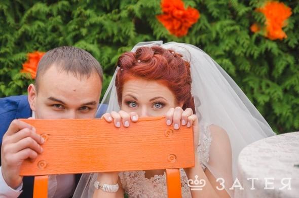 яркая и веселая свадьба в витебске