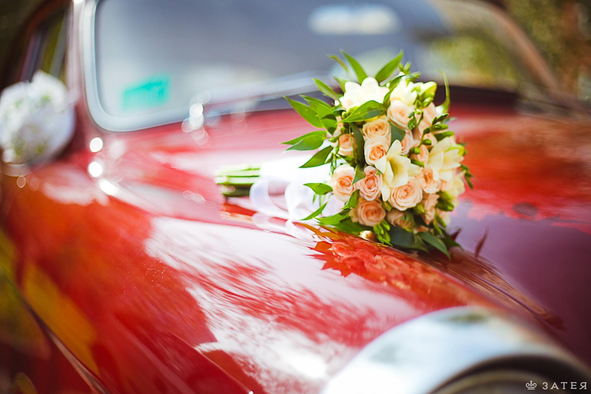 свежий букет для невесты