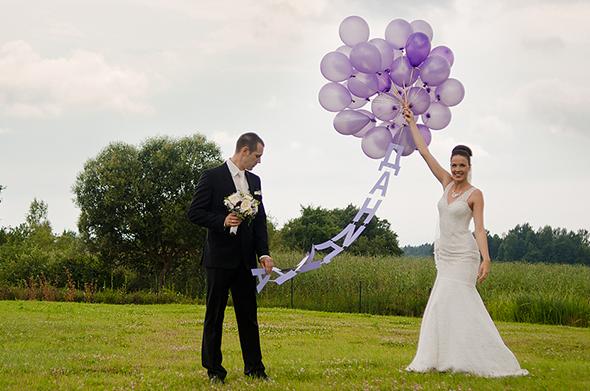Запуск фамилии на шариках